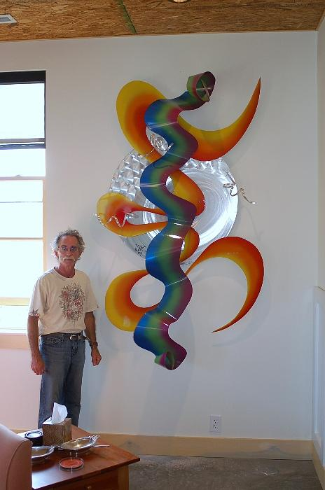 Aluminum Sculpture - Erotic Intention by Mac Worthington