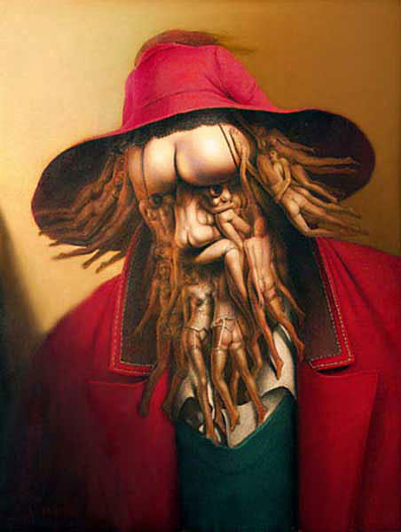 Erotic Painting - Erotic Man by Andre Martins de Barros