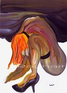Erotica - Sold Painting by Artist Rayhart