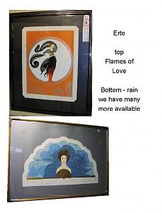 Erte Painting by Erte