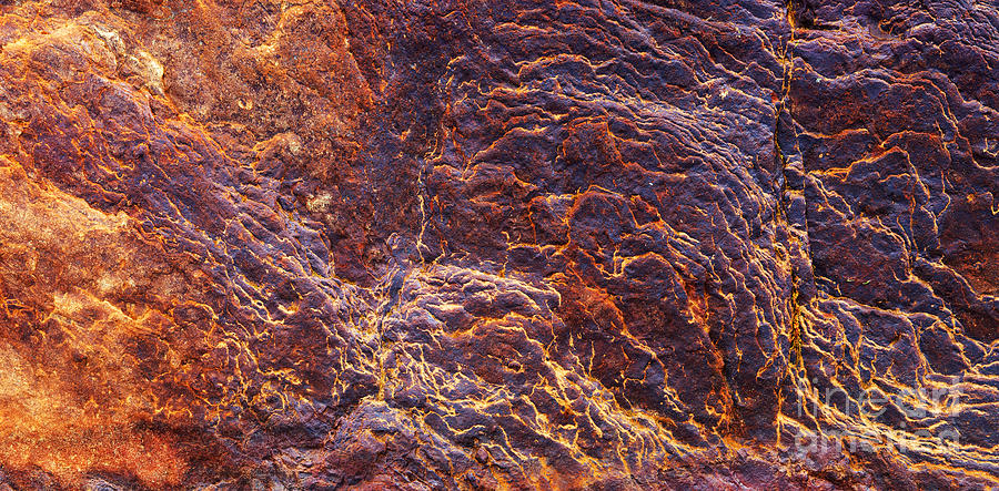 Iron Ore Deposits Photograph - Eruption by Tim Gainey