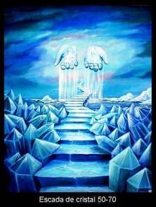 Escada De Cristal Painting by Jorge Miguel Almeida