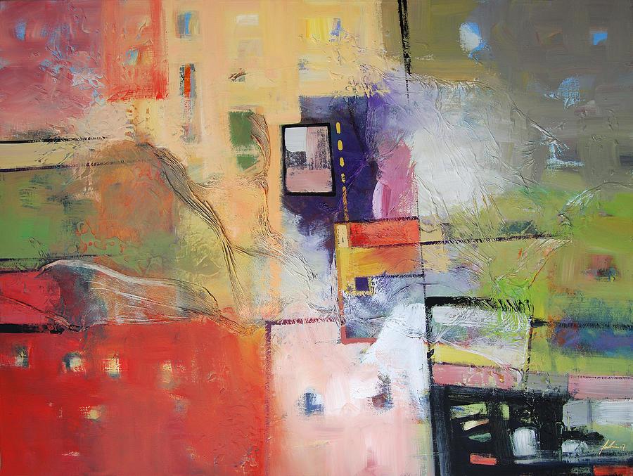 Escalation Painting by Farhan Abouassali
