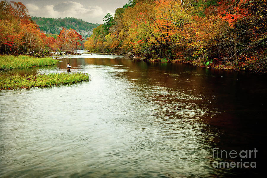Landscape Photograph - Escape To Beavers Bend by Tamyra Ayles