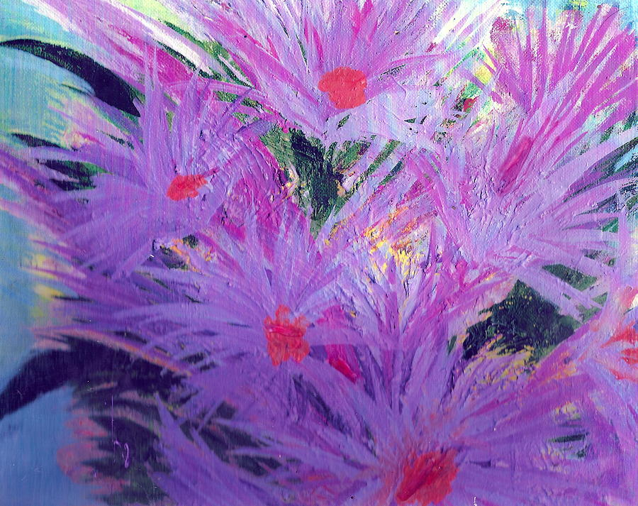 Lavender Painting - Especially For You Lavender Lovers by Anne-Elizabeth Whiteway