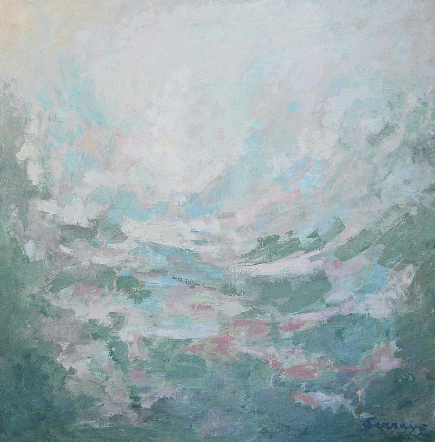 Mirage Painting - Espegismo by Guillermo Serrano de Entrambasaguas
