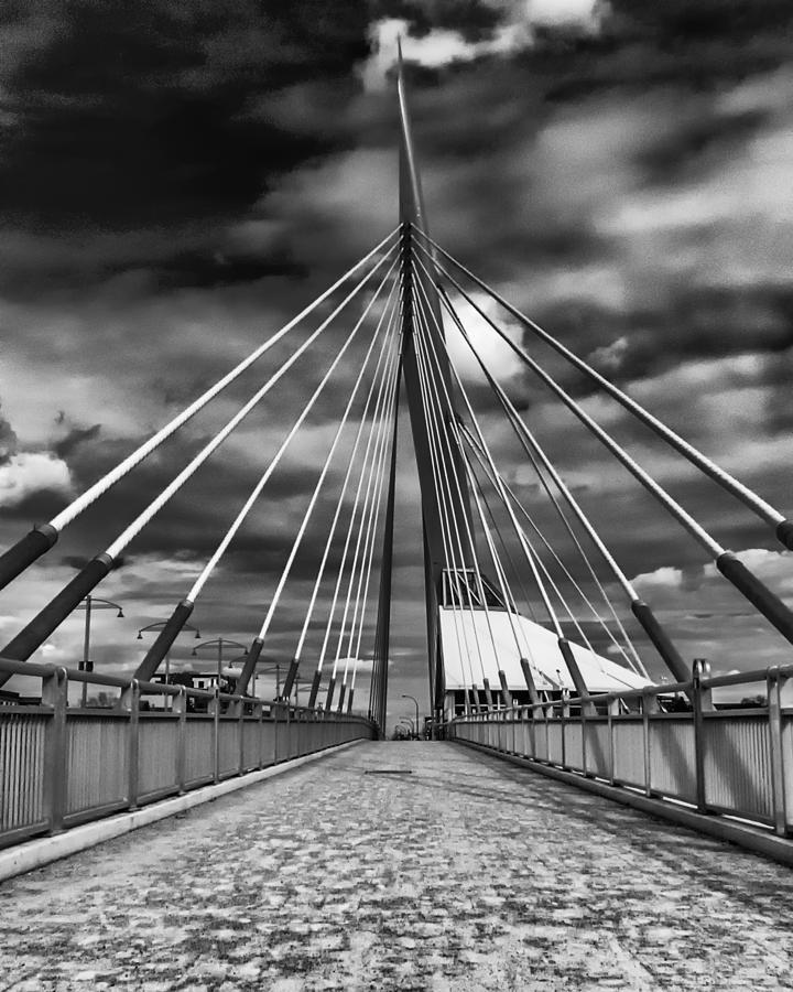 Esplande Riel Pedestrian Bridge Photograph