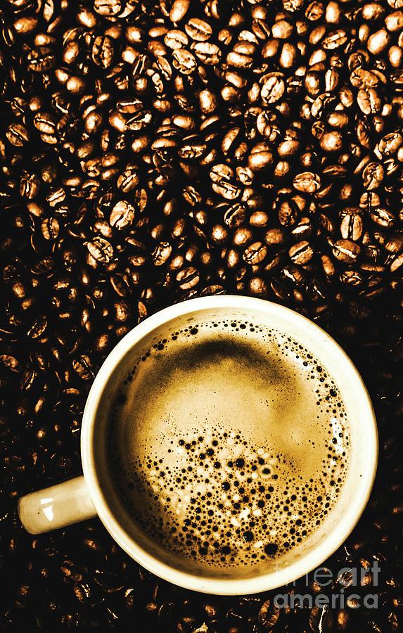 Breakfast Photograph - Espresso Roast by Jorgo Photography - Wall Art Gallery