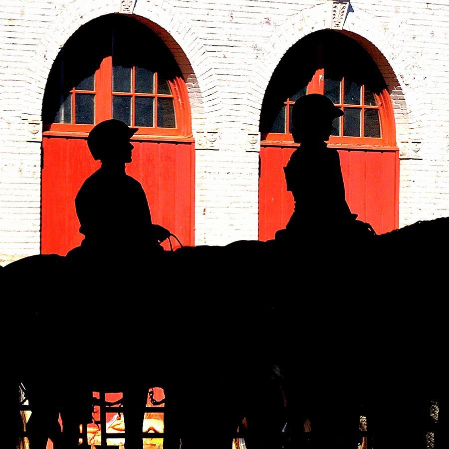 Equestrian Silhouettes Photograph