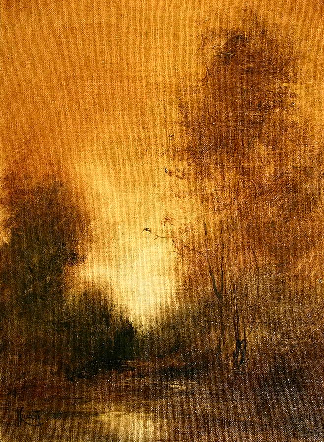 Landscape Painting - Essemce by JoAnne Lussier