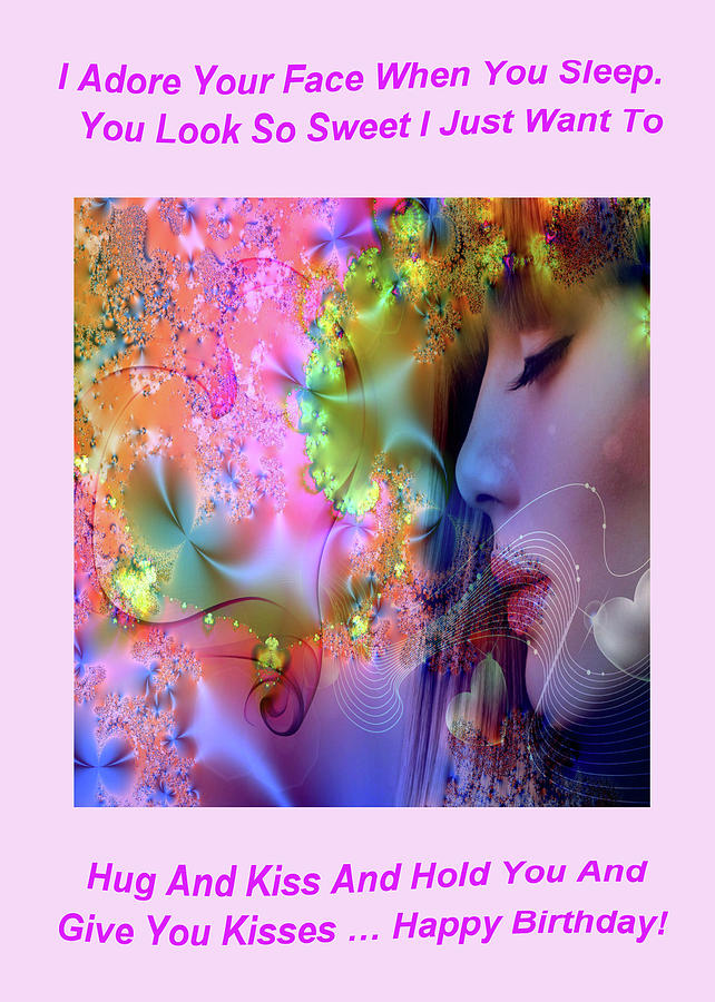 Adult Digital Art - Essence Of Love by Mitchell Watrous