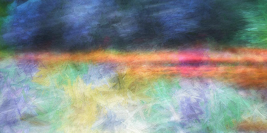 Abstract Digital Art - Essence Scape #56 by Don DePaola