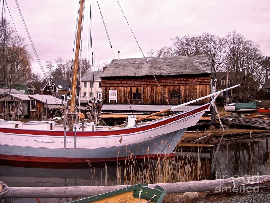 Essex Boat Yard by Paul Galante
