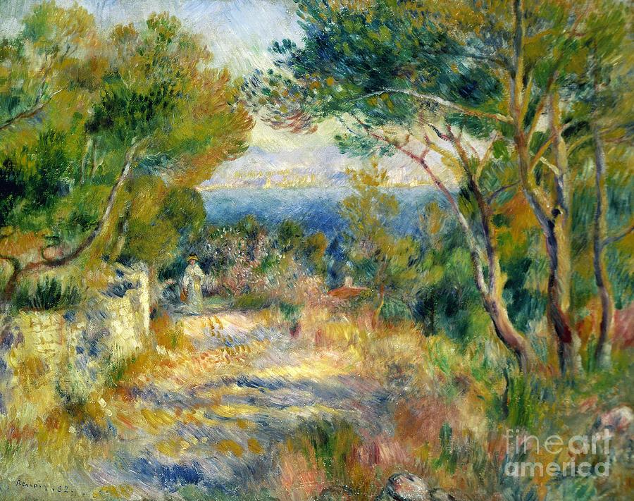 1882 Painting - Estaque by Renoir