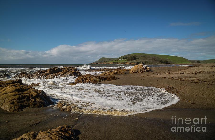 Cayucos Photograph - Estero Bluffs 8b5281 by Stephen Parker