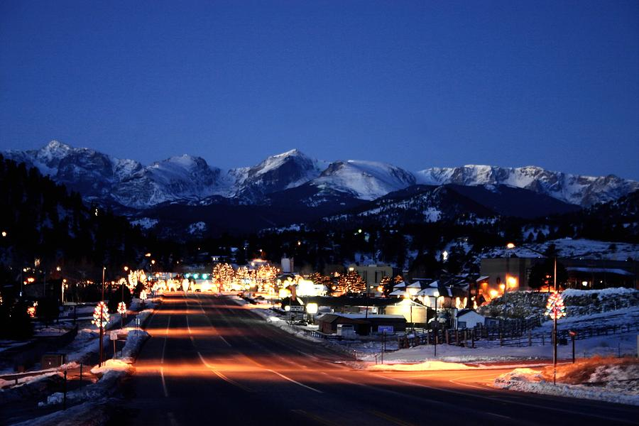 Scenery Photograph - Estes At Dawn by Perspective Imagery