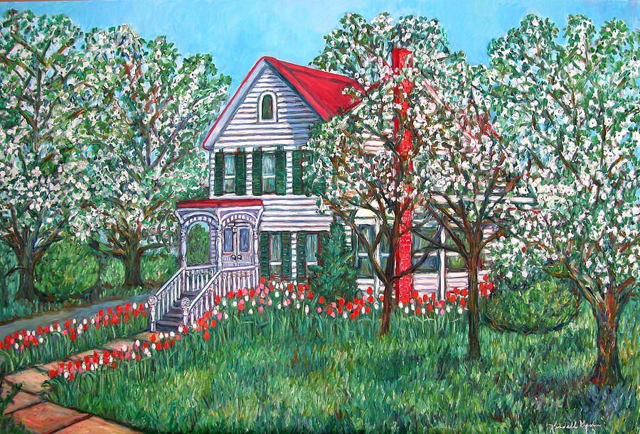 Home Painting - Esthers Home by Kendall Kessler