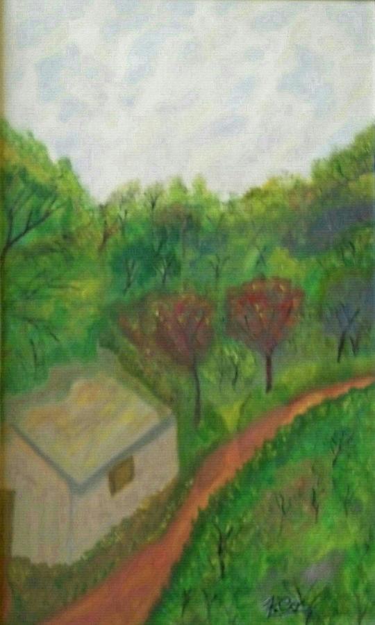 Estrada Pacata Painting
