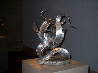 Forged Sculpture - Eternal Embrace by Bill  Roberts