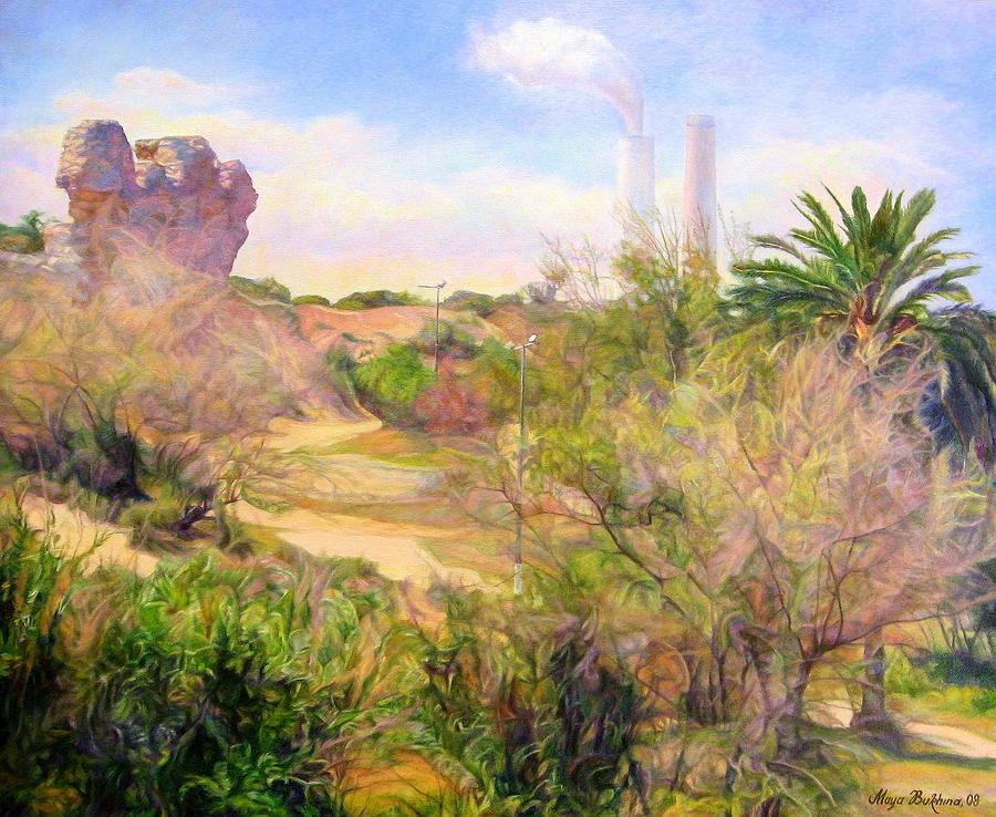 Painting Painting - Eternal Patterns  by Maya Bukhina