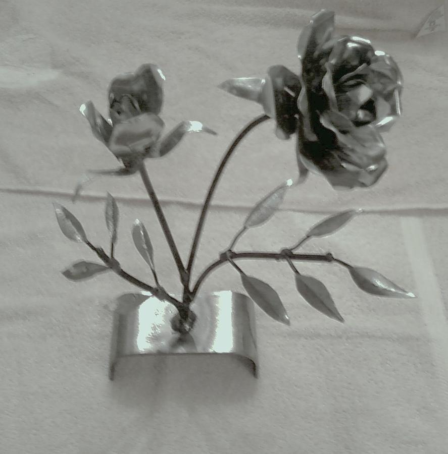 Rose Mixed Media - Eternal Rose by Jeff Orebaugh