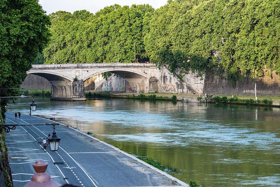 Italia Photograph - Eternal Tiber by Joseph Yarbrough