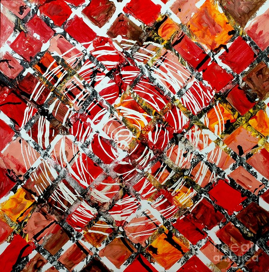 Circle Painting - Eternalcircle by Baljit Chadha