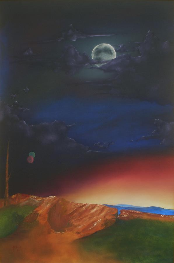 Landscape Painting - Eternity by Richard    J Thorpe