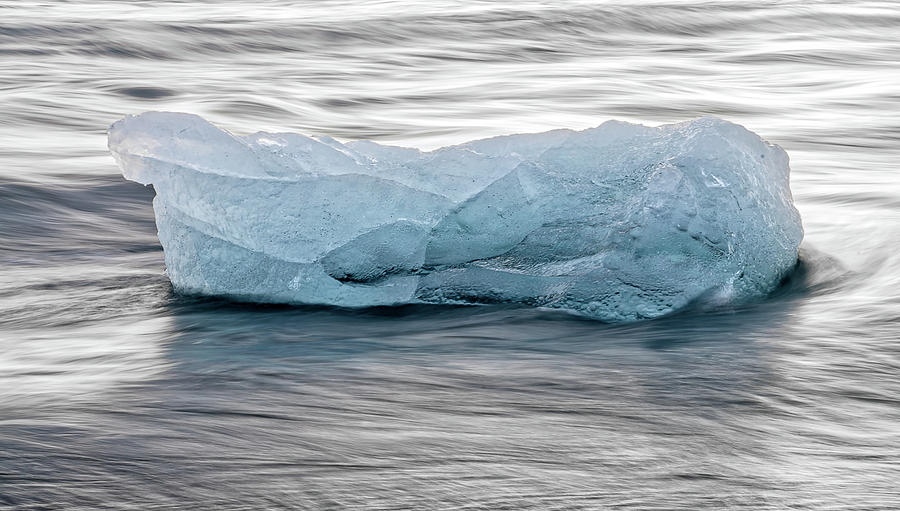 Iceland Photograph - Ethereal Ice by Christopher Behrend
