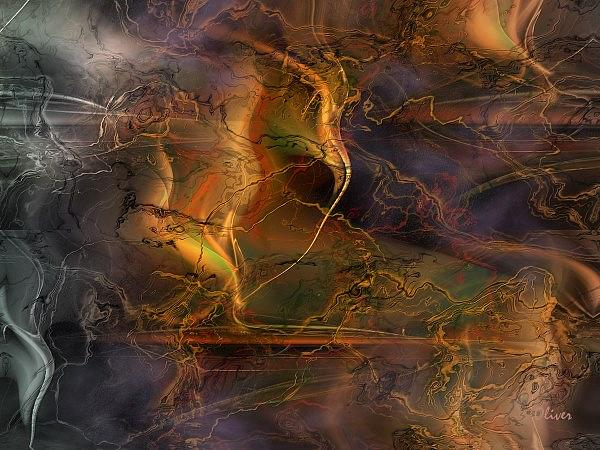 Expressionism Painting - Etherization Concertante by Charles Oliver