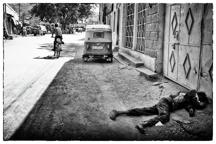 Phil dawson photograph ethiopian street scene 1 by phil dawson
