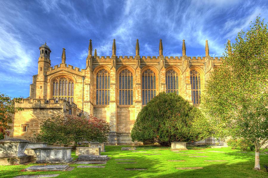 Eton Photograph - Eton College Chapel by David Pyatt