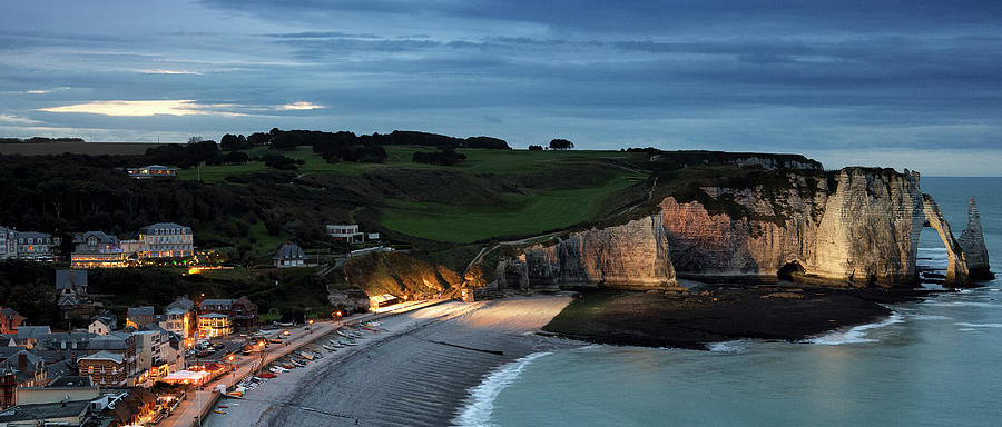 Etretat In The Evening Photograph