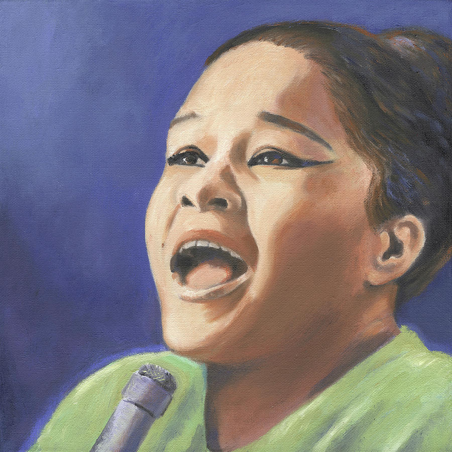 Etta James by Linda Ruiz-Lozito