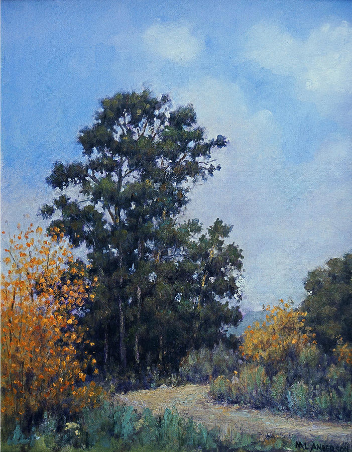 California Painting - Eucalyptus by Marv Anderson