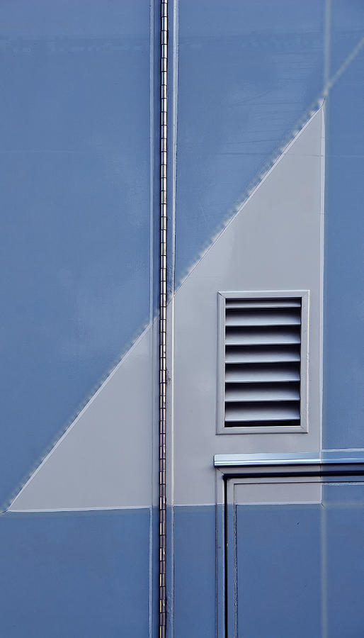 Architectural Abstract Photograph - Euclidean Photography II by KM Corcoran