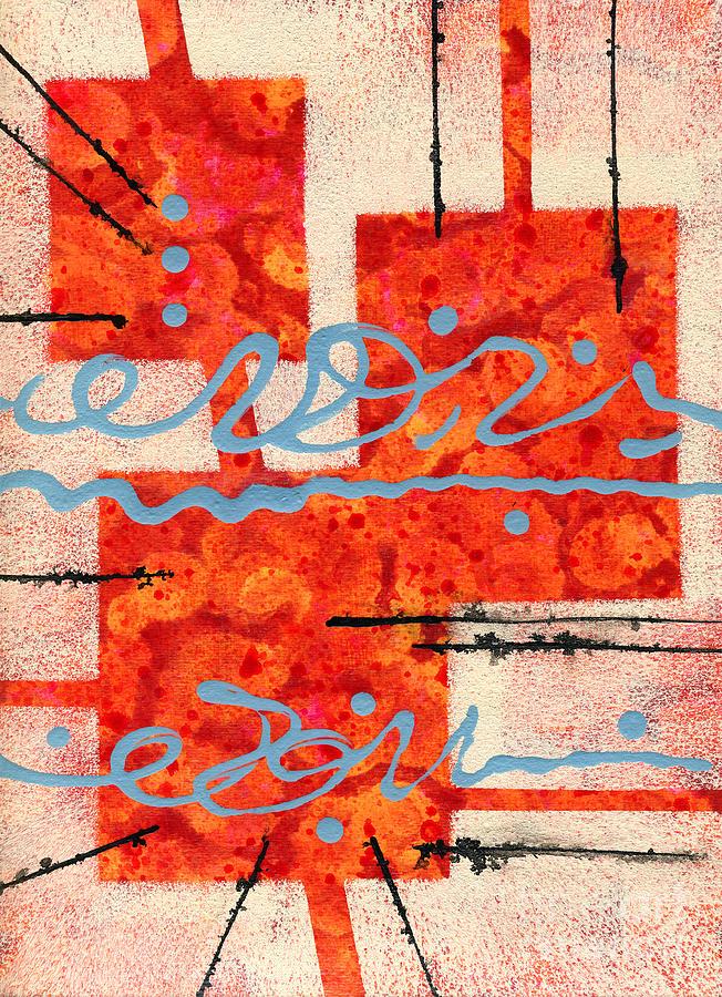 Mixed Media Mixed Media - Eureka by Cyndi Lavin