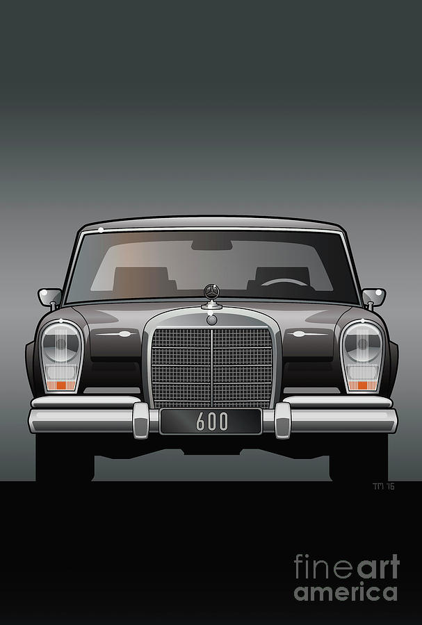 Euro Classic Series Mercedes-Benz W100 600 by Monkey Crisis On Mars