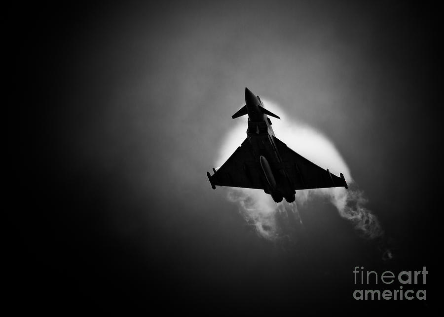 Royal Photograph - Eurofighter Typhoon by Rastislav Margus