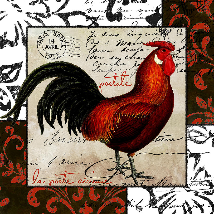 Europa Rooster II Painting