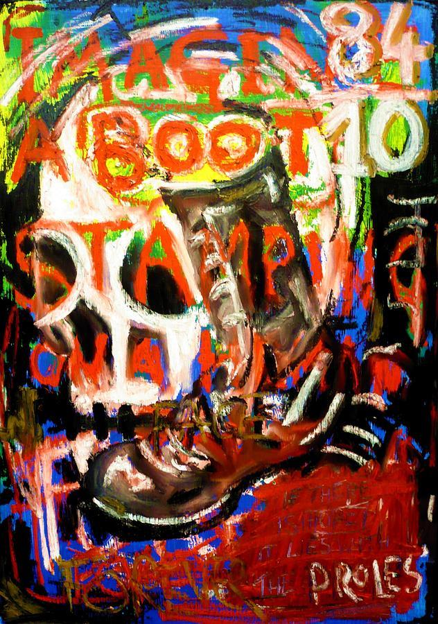 Fascism Painting - Europa by Stuart Bracewell