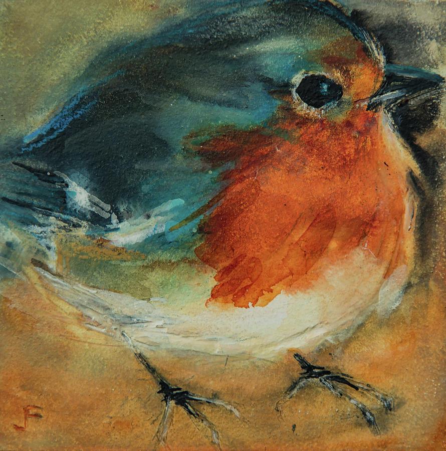 European Robin 2 by Jani Freimann