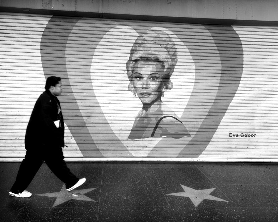 Hollywood Photograph - Eva by John Gusky