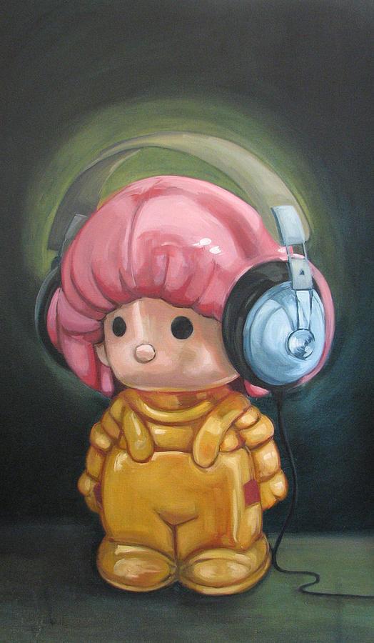 Adam Painting - Eva by Lucia Rodriguez