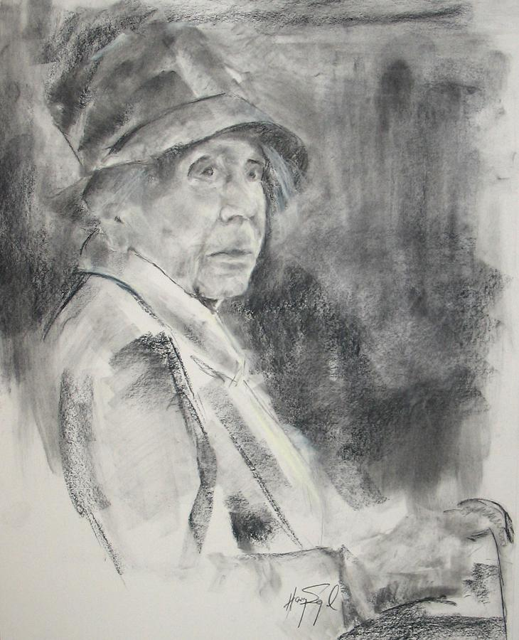 Portrait Painting - Eva.....103 by Harvey Segal