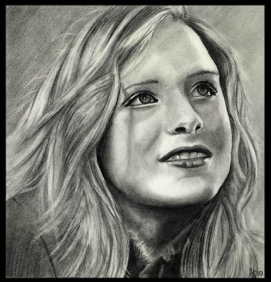 Actress Drawing - Evan Rachel Wood by Alycia Ryan