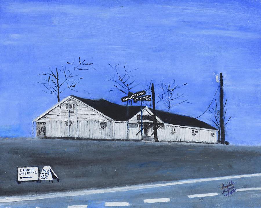 Club Painting - Evangeline Club by Swabby Soileau