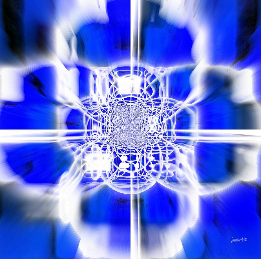Fania Simon Digital Art - Evangelization  by Fania Simon