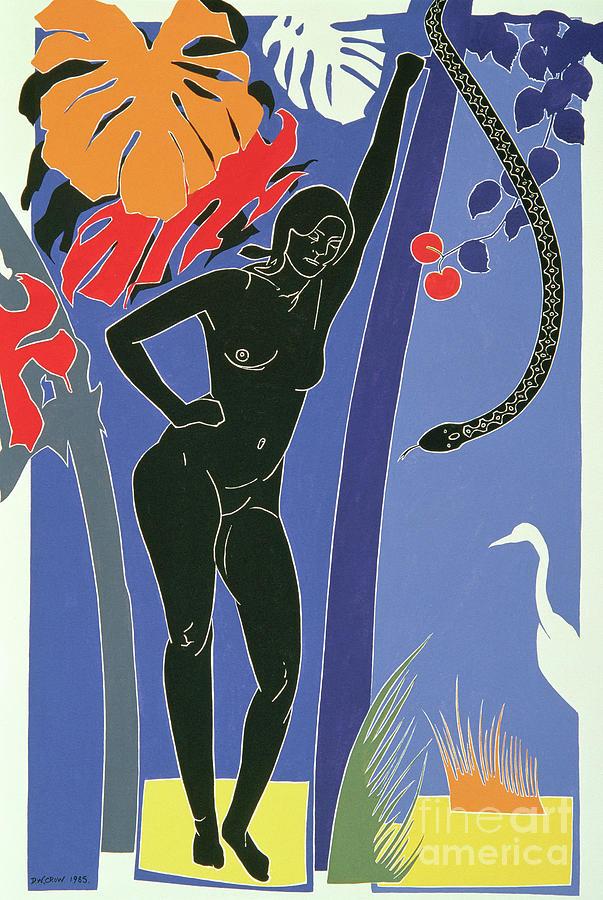 Eve Painting - Eve by Derek Crow