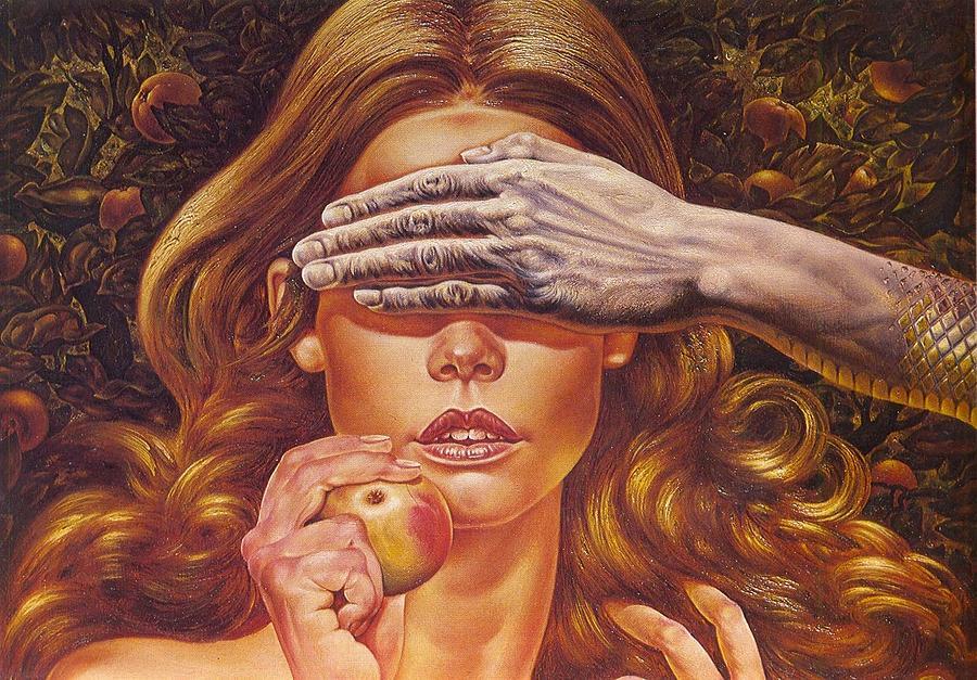Adam And Eve Painting - Eve by Nicolae Gutu